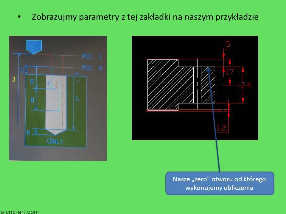 Manual Guide i toczenie G1111 Wiercenie ZY 6