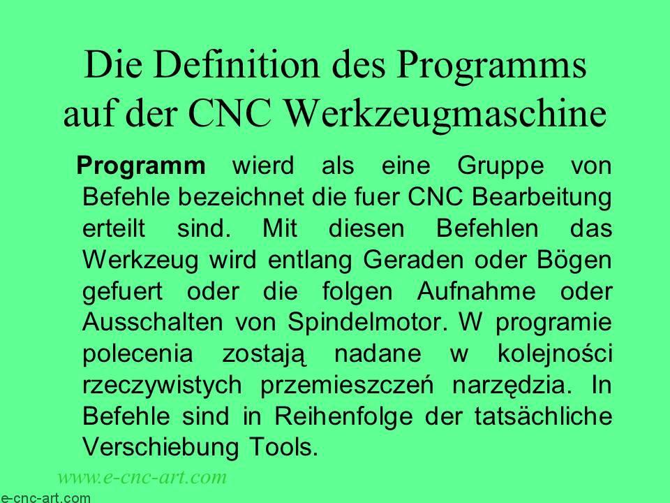 Programmierung von CNC-Werkzeugmaschinen 03