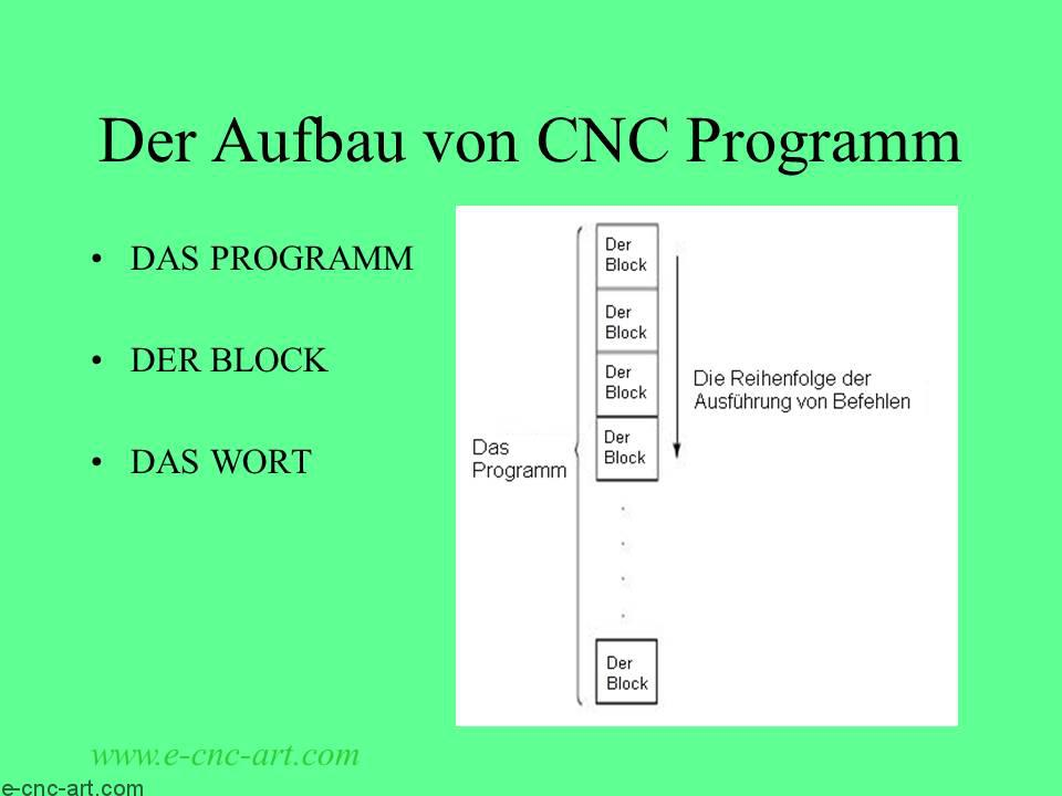 Programmierung von CNC-Werkzeugmaschinen 17