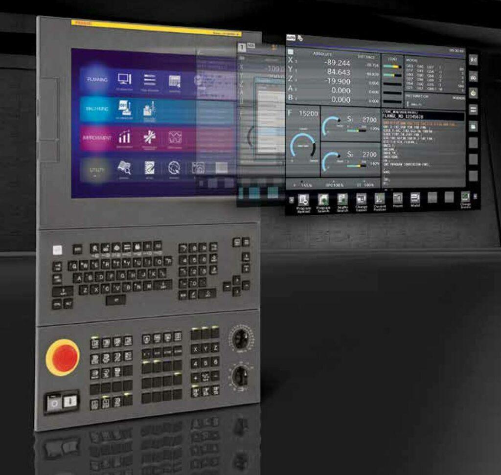 Ihmi The New Cnc Machine Interface From Fanuc Cnc Art